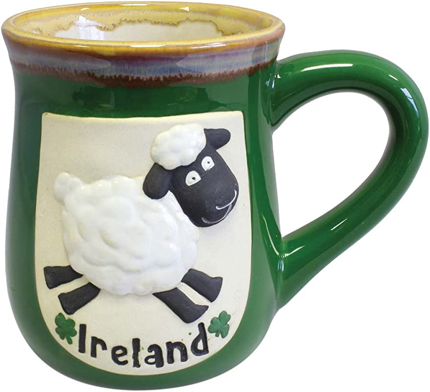 Sheep Pottery Mug