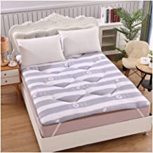 Tatami Mattress, Japanese Mattress Tatami Floor Folding Mattress Mat Breathable Futon Furniture Mattress Soft Bedroom Matt...