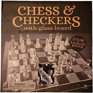 Cardinal Chess and Checkers with Glass Board