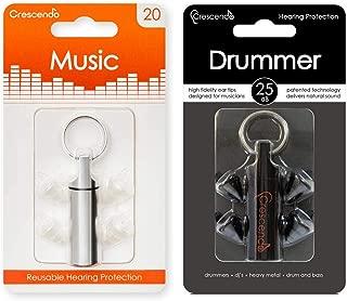 【2種セット】Crescendo Music + Drummer イヤープロテクター
