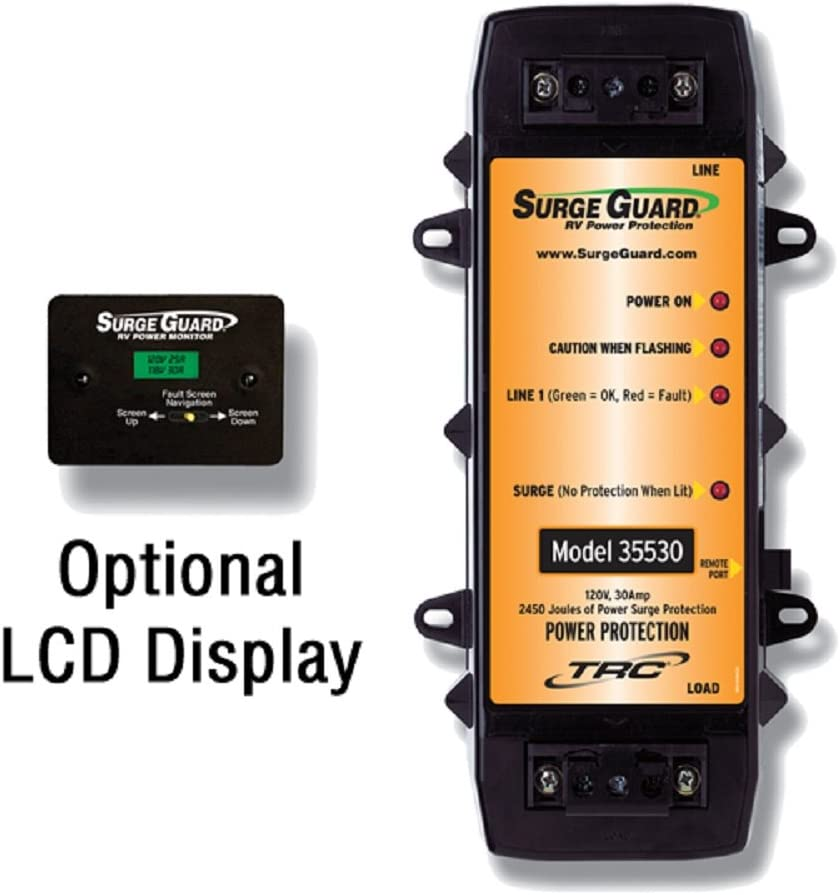 Surge Guard 40300-10 Optional Remote Power Monitor LCD Display