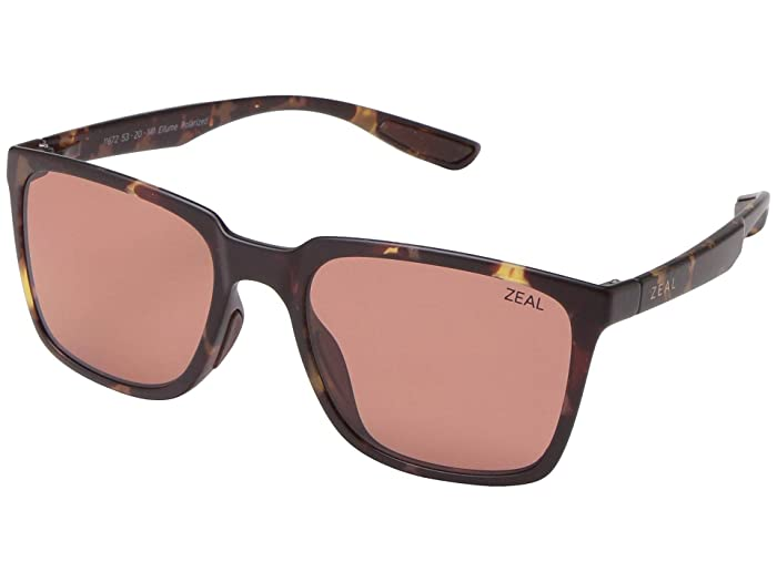 Zeal Optics  Campo (Matte Tortoise/Polarized Rose Lens) Fashion Sunglasses