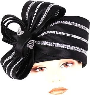 Ms Divine Women's Satin Year Round Pillbox Church Derby Dress Formal Hats #HL011