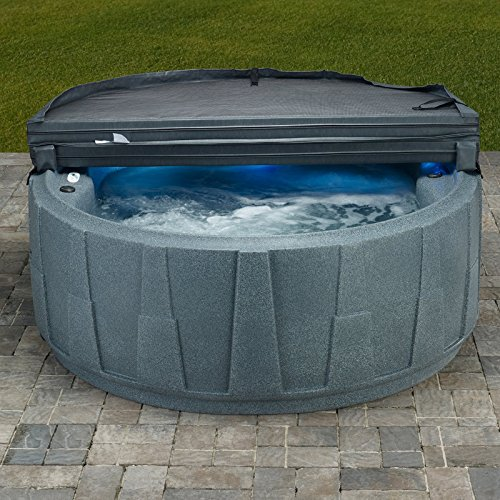 AquaRest Spas AR-200 4 Person 14 SS Jets with Easy Plug and Play and LED Waterfall