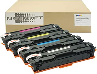 MEENJET Compatible Toner Cartridge Replacement for HP 206A W2110A W2111A W2112A W2113A for HP Color Laserjet Pro M255dw MF...