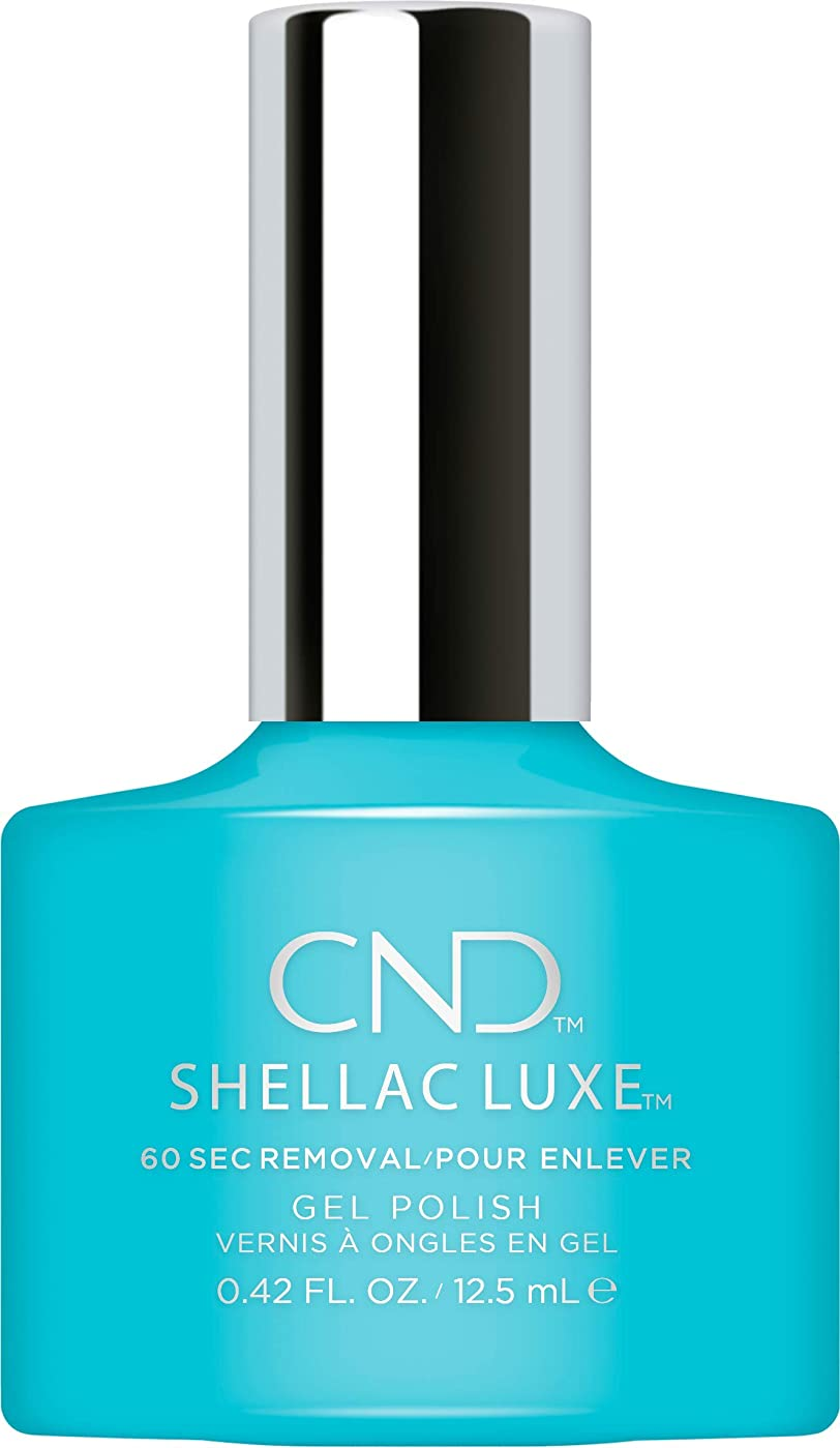 平和頻繁に蒸留するCND Shellac Luxe - Aqua-intance - 12.5 ml / 0.42 oz