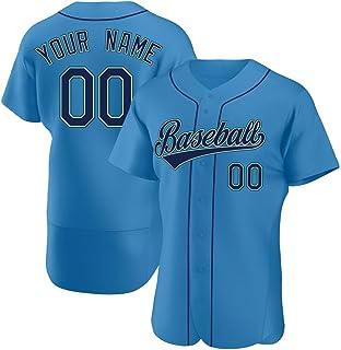 Custom Baseball Jersey Stitched Personalized Shirts Team Uniforms for Adult/Women/Kids