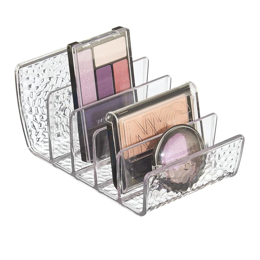 影響を受けやすいですおんどり冊子InterDesign 洗面所 化粧品 メイク 小物 収納 ボックス オーガナイザー Rain クリア 55150EJ