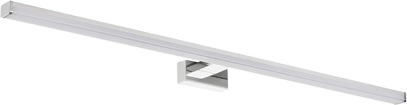 SEBSON® LED Spiegellamp 90cm, Wand Montage, Badkamer Verlichting IP44, Spiegelverlichting Neutraal Wit 4000K 15W, 1300lm, ...