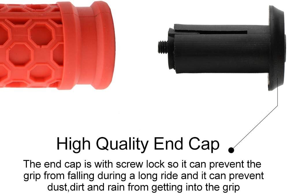 TOPCABIN Bike Grips,Ergonomic Design Comfortable Bicycle Grips Shock Absorption Bike Handlebar Grips for MTB Cycling Mountain