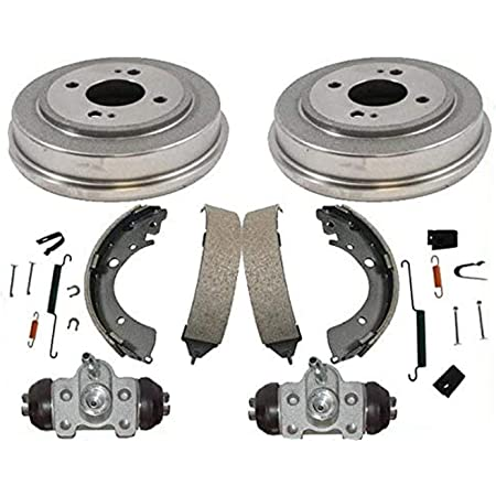 Both Left and Right 2001 For Honda Insight Rear Drum Brake Shoes Set with 2 Years Manufacturer Warranty