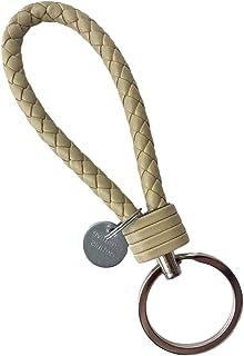 iEay Porte-clés en Cuir | Porte-clés Homme | Porte-clés de Couleur Unie | Porte-clés avec Pendentif Rond Creative Details ...