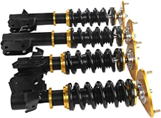 Shock Absorber and Bracket Auto Accessories Struts Coilover Shock Absorbers Fit for Subaru Impreza 02‑ 07 Fit for WRX GDB ...
