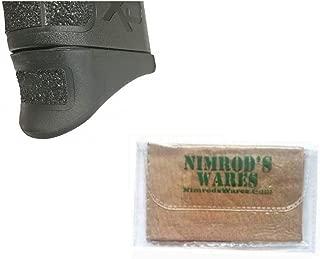 Nimrod's Wares Pearce Grip Springfield XD MOD 2 45 Grip Extension PG-M245 PG-M2.45 Bundle Microfiber Cloth