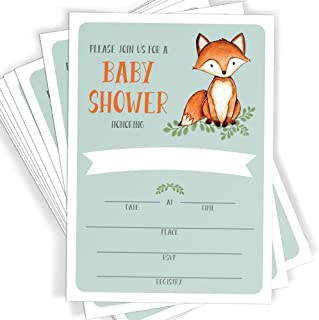 Best fox baby invitations Reviews