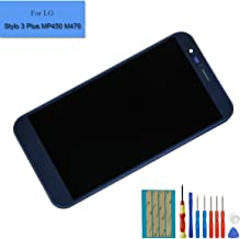For LG Stylo 3 Plus MP450 TP450 M470 M470F Replacement Touch Screen Display LCD Assembly Digitizer Glass Black With Frame + Tools