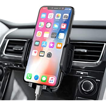 Samsung Galaxy S9+ and Other Gottowow Car Phone Mount Air Vent Cell Phone Holder for Car: The Compatible Car Mount Holder with iPhone 11//11 Pro//Xs//XS Max // 8//7 // 6 Google Pixel 3 XL