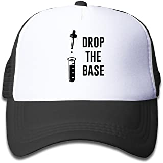 WZN Drop The Bass Chemistry Base Polyester Foam Caps With Black For Youth