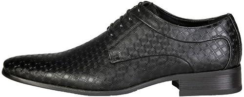 V 1969 - LAZARE_noir Chaussures à Lacets Lacets Derby Homme  pas de taxes