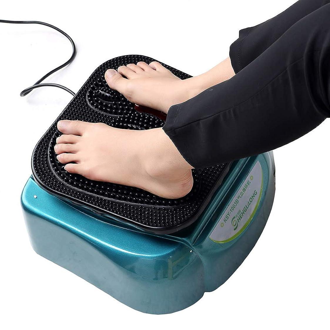 除外する植物の発行するリモコン 電気足のマッサージャーの血循環機械は足の痛みを和らげるために深く混練するさまざまなマッサージの技術を模倣します インテリジェント, Blue