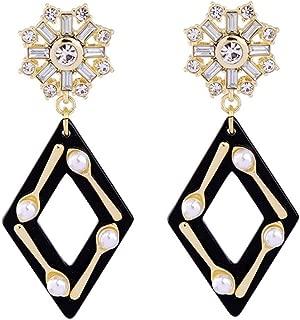 black metal earrings online shopping india