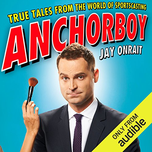 Anchorboy audiobook cover art