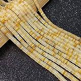 JSJJAUJ Colgantes Cuentas de Piedra Natural Agates Forma de Cilindros Abacus Personas Productos Personas DE Spacer Bricolaje Accesorios de Pulsera Collars (Color : 6, Item Diameter : 2x6mm)