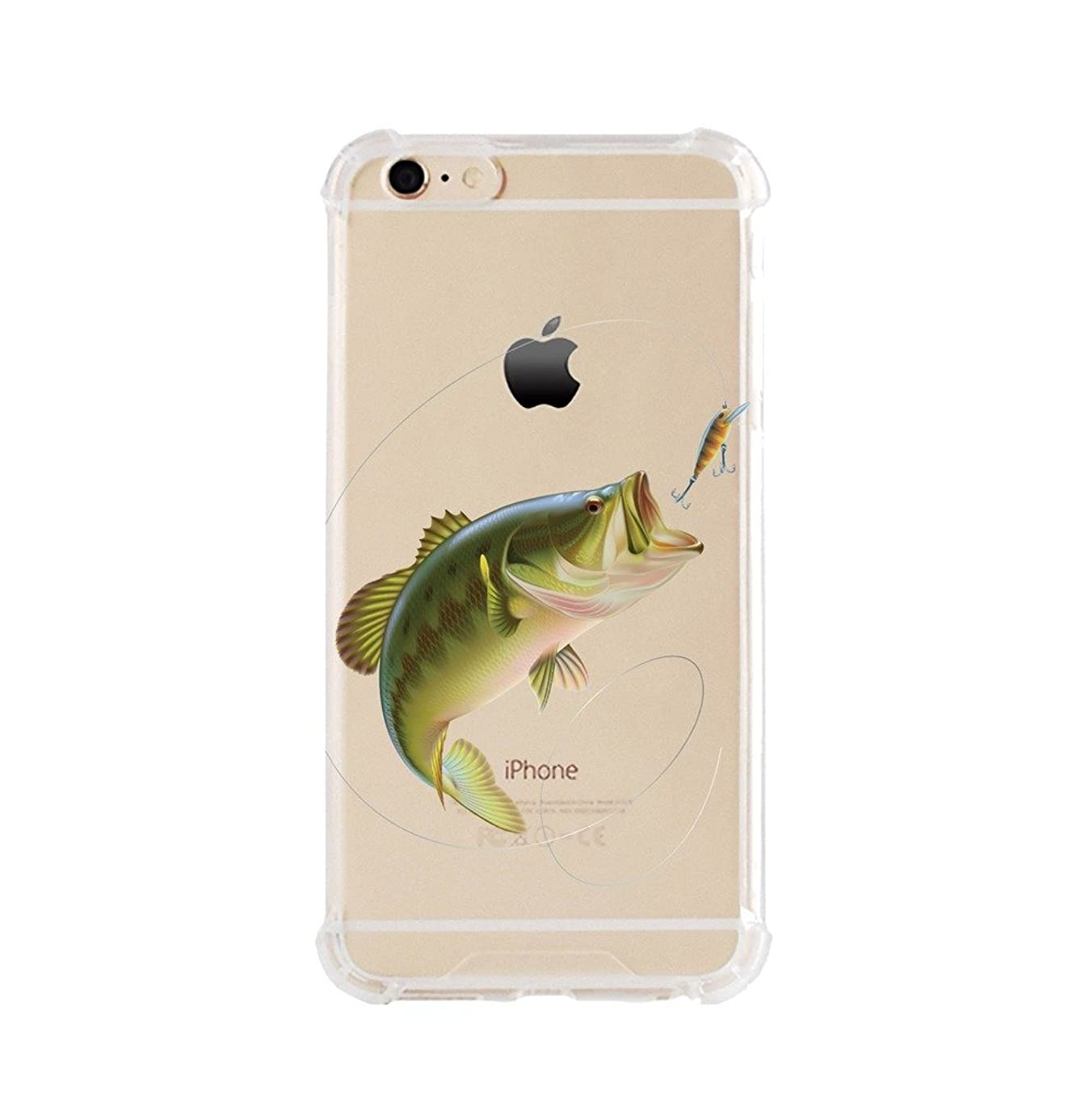iPhone 6/6s Shock Absorption Case (4.7 inch screen), fishing Design
