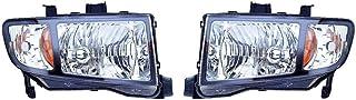 $123 » Sponsored Ad - For Honda Ridgeline Headlight Assembly 2006 2007 2008 Pair Driver and Passenger Side | Black Housing | CAPA...