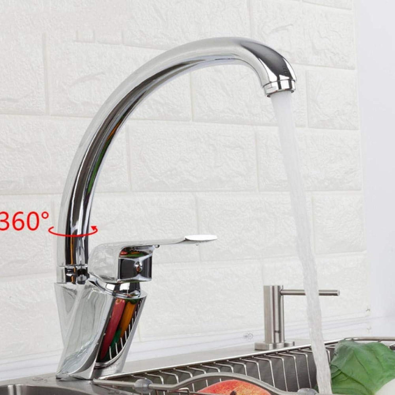 Gorheh Küchenarmatur Chrom Spültischarmaturen Wassermischer Küchenwassermischer Messing Wasserhahn Mischbatterie Spültische