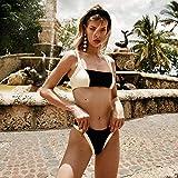 hanimj (Einheitsgröße) Bikini Set 2020 Sexy Push Up Badeanzug Für Frauen Brasilianischer Badeanzug mit niedriger Taille Biquini Halfter Zweiteiliger Badeanzug