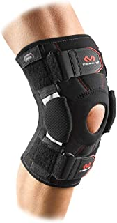 Mcdavid Knee Brace, Maximum Knee Support & Compression for Knee Stability & Recovery Aid, Patella Tendon Support, Tendonitis Pain Relief, Ligament Support, Hyperextension, Men & Women, Sold as 1 Units