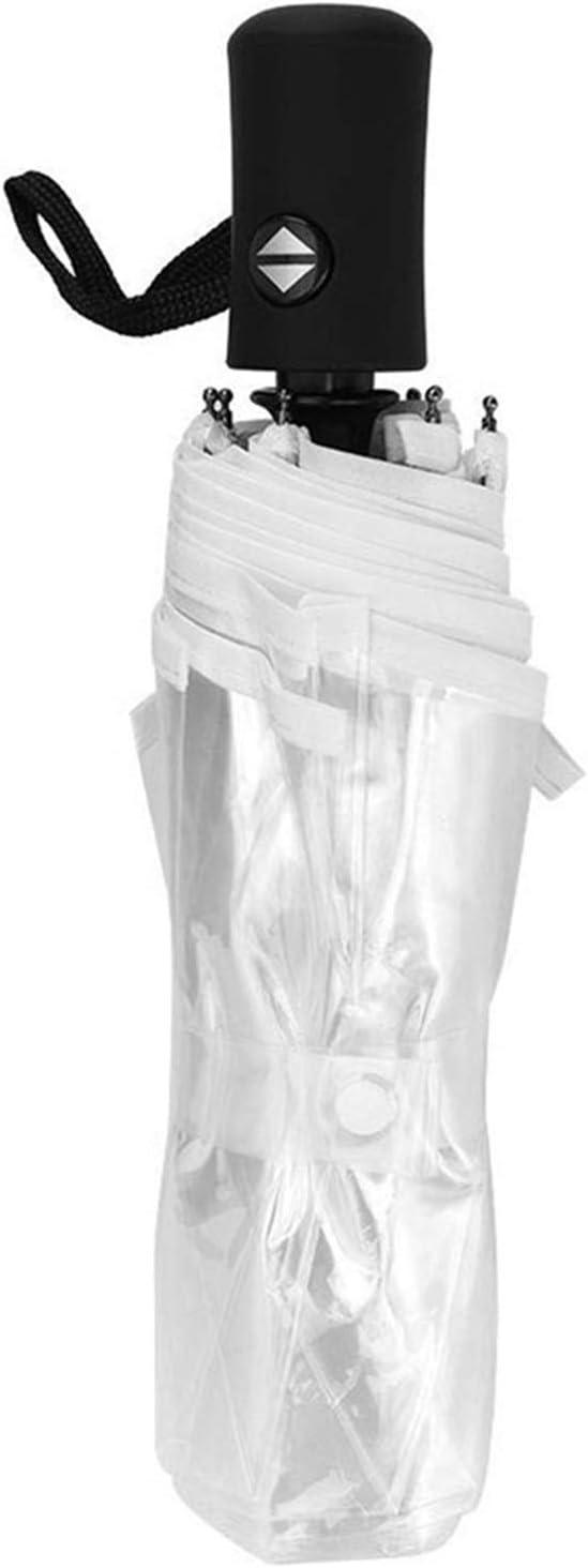 YINGBBH Umbrella Transparent Popular Max 78% OFF standard Rain Ladies Clear