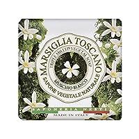 ネスティダンテ Marsiglia Toscano Triple Milled Vegetal Soap - Muschio Bianco 200g