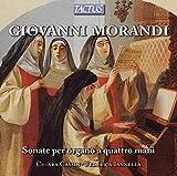 Giovanni Morandi : Sonates pour orgue à 4 mains