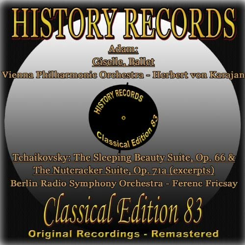 Herbert von Karajan, Vienna Philharmonic Orchestra, Ferenc Fricsay, Berlin Radio Symphony Orchestra
