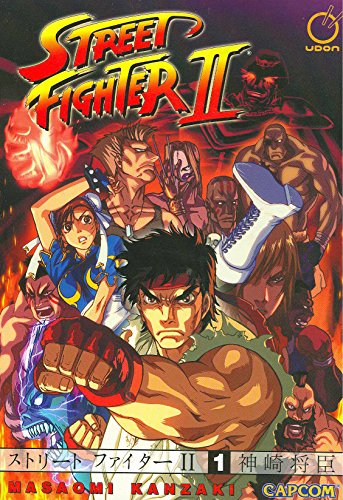 Street Fighter II - The Manga Volume 1: Manga v. 1