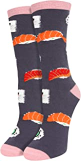 Women Girls Novelty Funny Llama Unicorn Crew Socks Crazy Funky Teeth Pineapple Avocado Socks