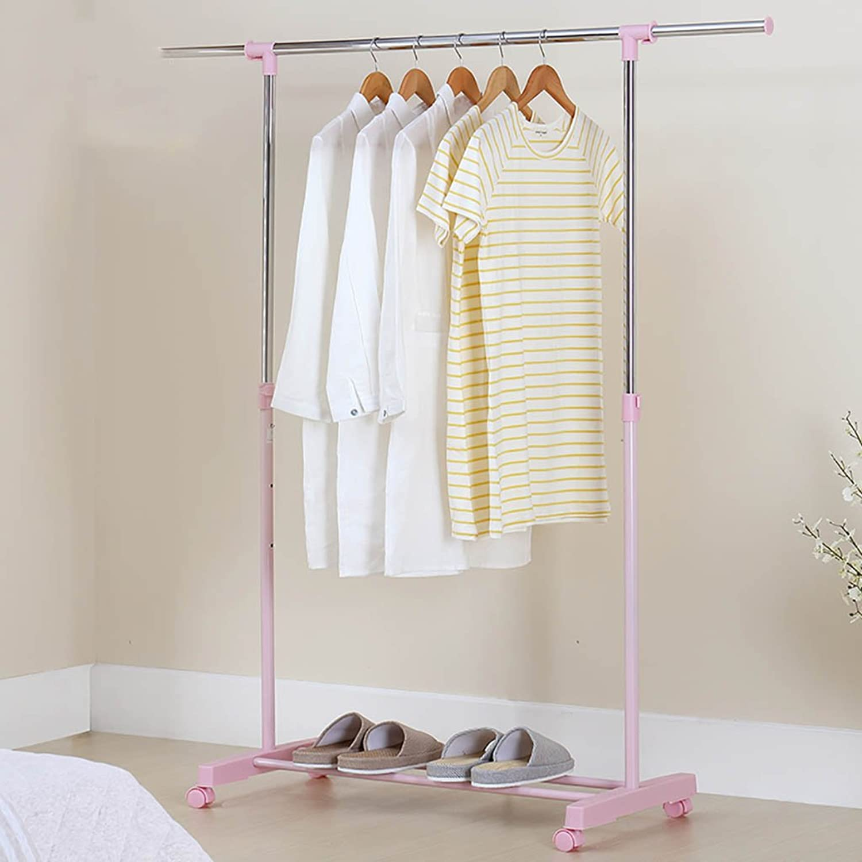 Coat Rack Simple Hanger Floor Coat Hanger Bedroom Coat Rack Floor - Style Single Pole Home Coat Rack