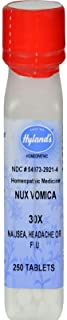 Hyland's Nux Vomica 30X, 250 Tablets