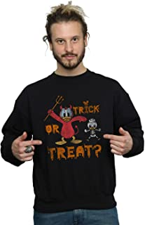 Disney Men's Donald Duck Halloween Trick or Treat Sweatshirt