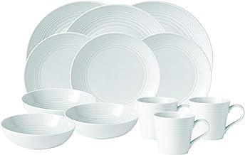 Gordon Ramsay Maze White 16 Piece Dinner Set