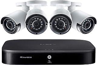 نظام حماية OnPoint للمراقبة LX1080-44BW MPX يضم D841A81B 8Ch 1TB 4K DVR مع 4 كاميرات رصاصة 2MP LBV2531