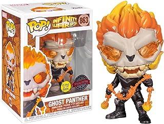 Funko Pop Marvel Warps Ghost Panther Glow