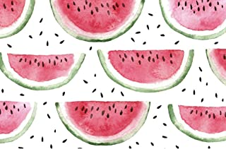 """Altoona Design Organics Down by The Bay Collection Paper Placemats 24/Pack Watermelon Rectangle 12.5"""" x18.5"""""""