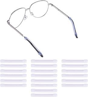 10 Pairs Silicone Eyeglasses Temple Tips Sleeve Retainer Soft Anti-Slip Elastic Comfort Glasses Retainers