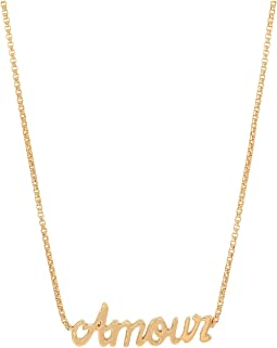 "Amour Adjustable 18"" Necklace"