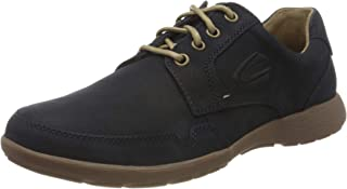 camel active Folk, Men's Derby, Blue (Midnight 01), 9 UK (43 EU)