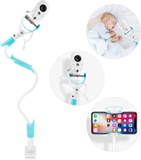 GHB Baby Monitor Mount Baby Monitor Stand Baby Camera Holder Baby No Drilling with Straps 85CM