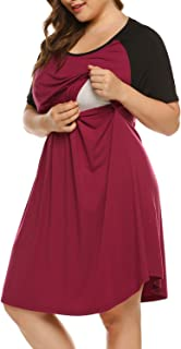 Best plus size maternity nightgown Reviews